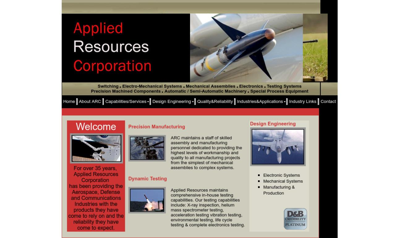 Applied Resources Corporation
