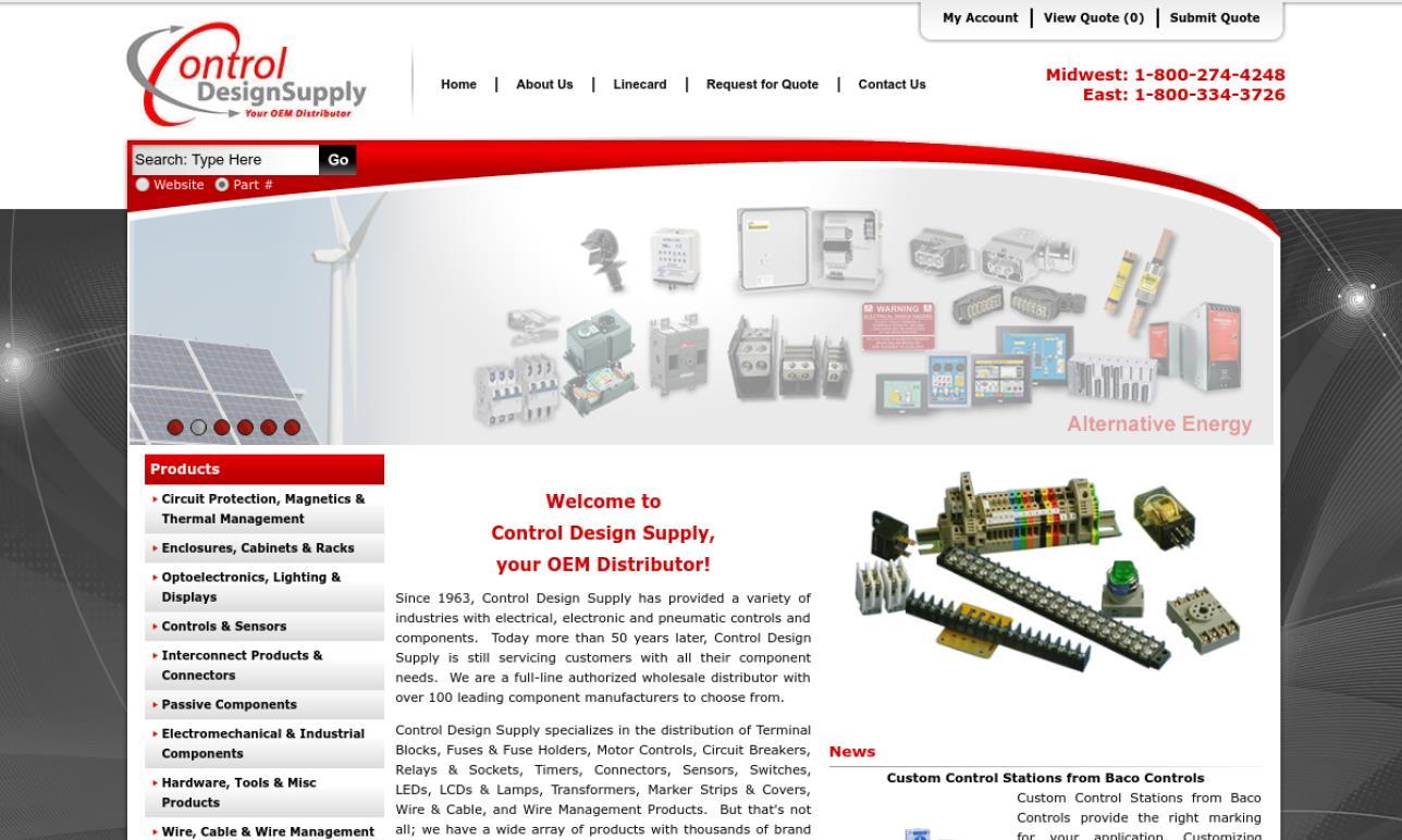 Control Design Supply Inc.