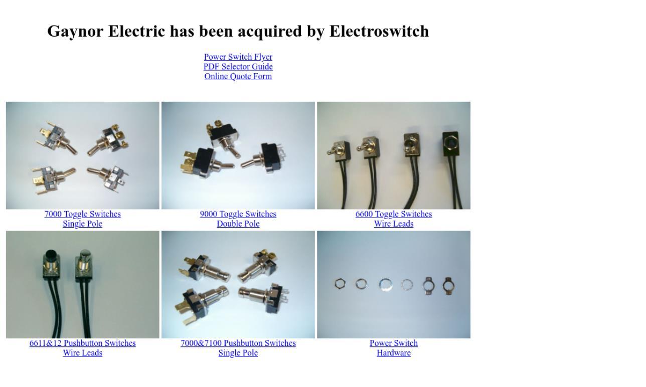 Gaynor Electric Company, Inc.