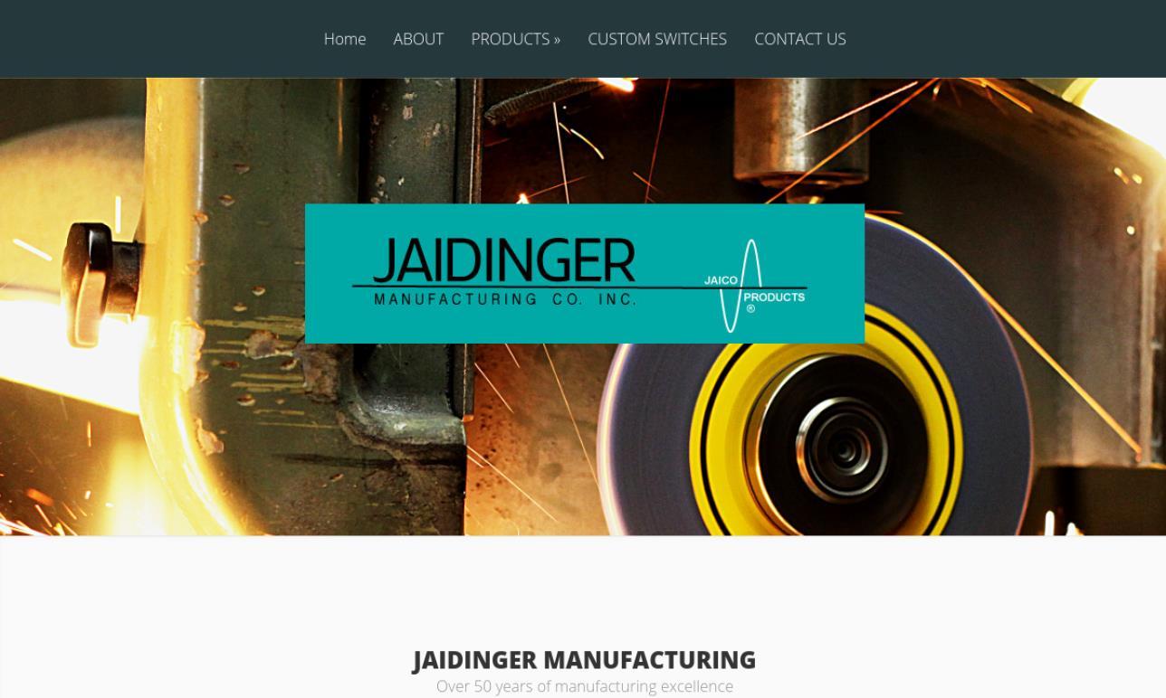 Jaidinger Mfg. Co., Inc.
