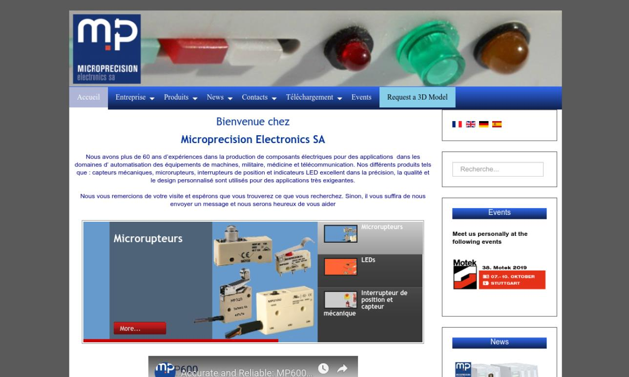 Microprecision Electronics Inc.