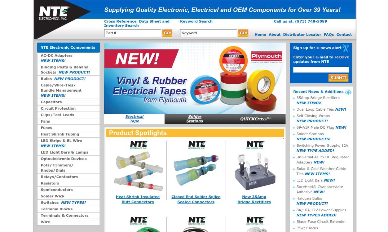 NTE® Electronics, Inc.