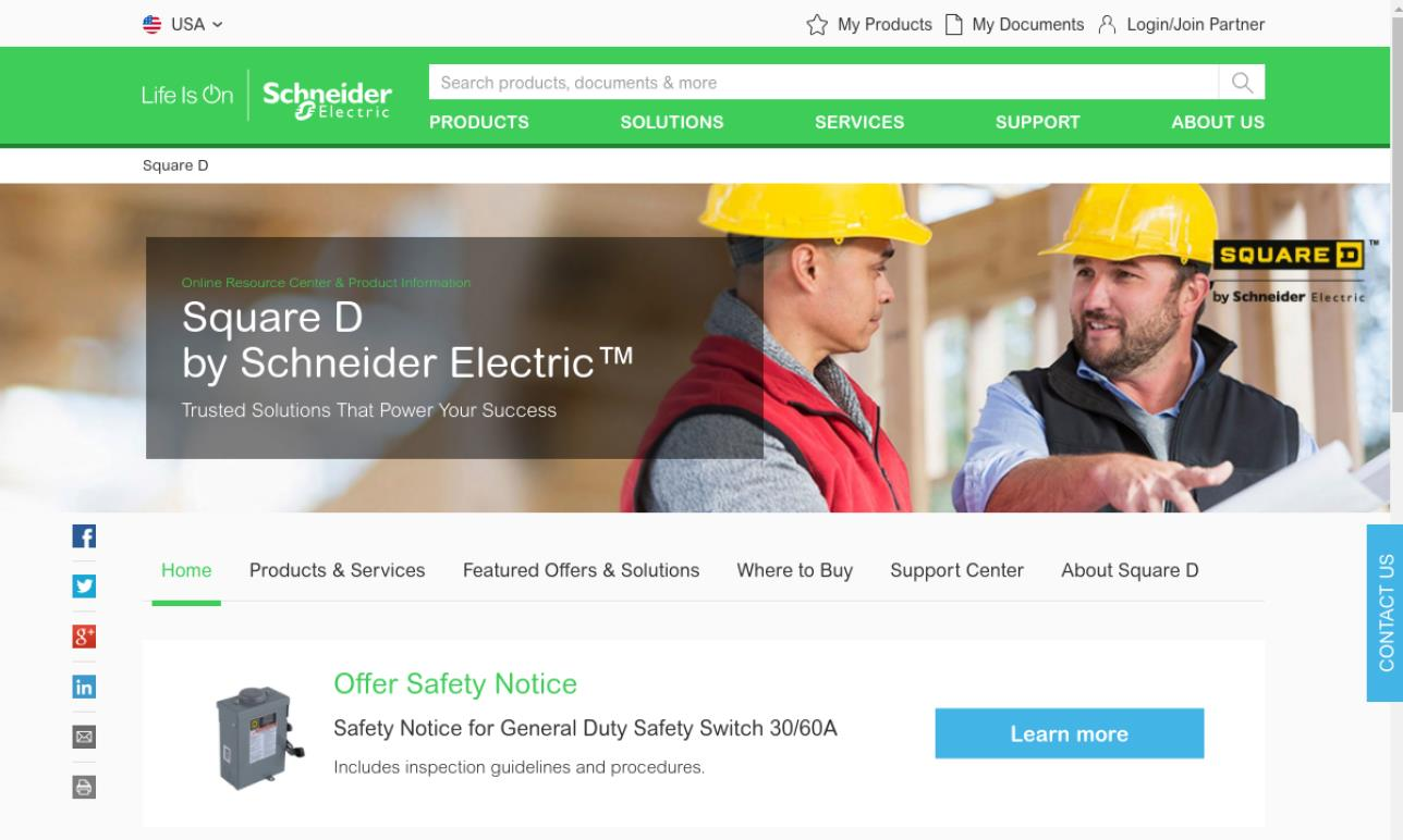 Square D/ Schneider Electric